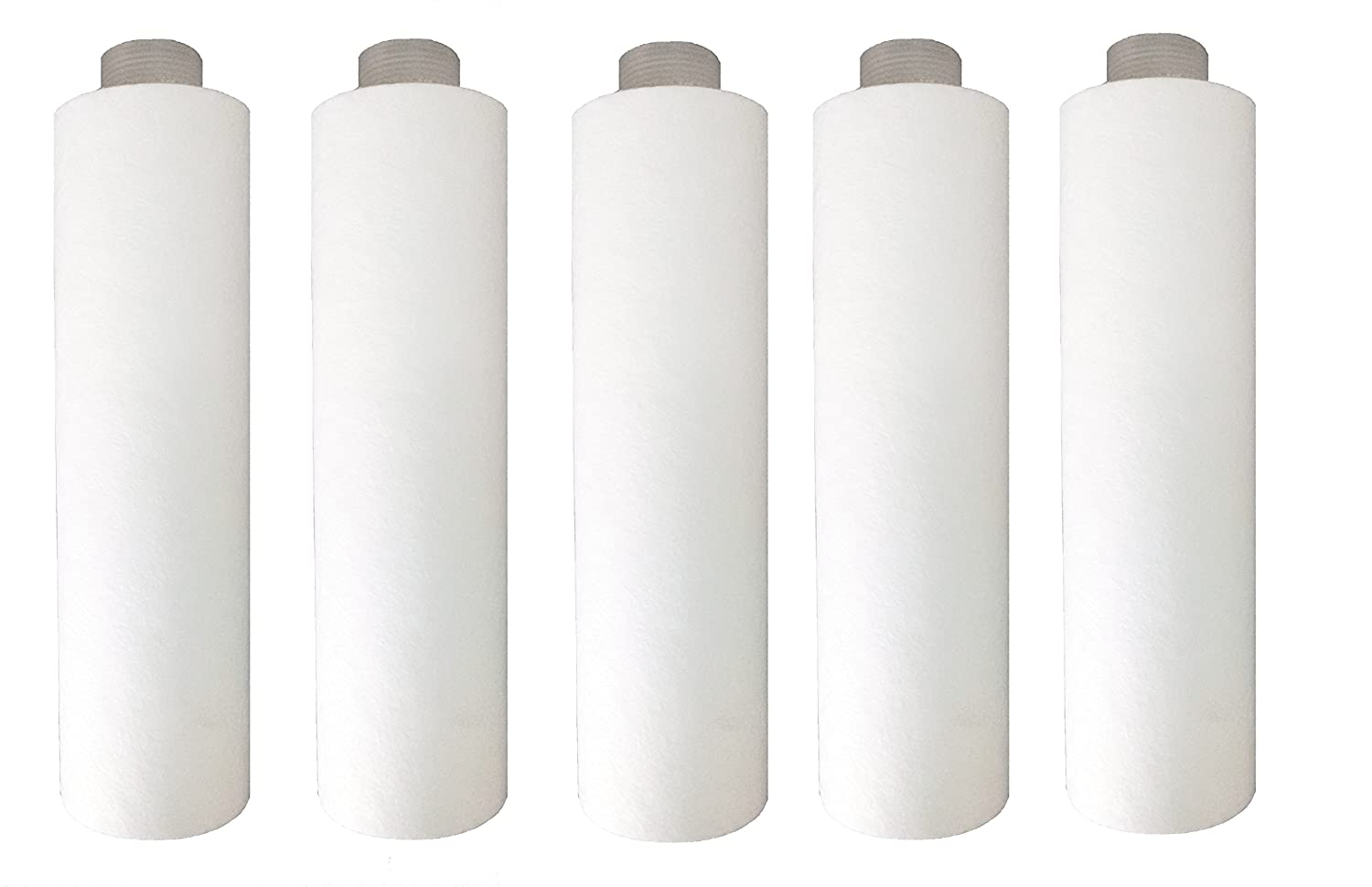Aquadyne Water Filters Pre Filter Candle White Pack Of 5 Amazon Nano Cartridge Air 10 03 U Mikron Home Kitchen
