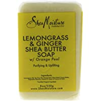 SheaMoisture Lemongrass & Ginger Shea Butter Soap - 8 oz