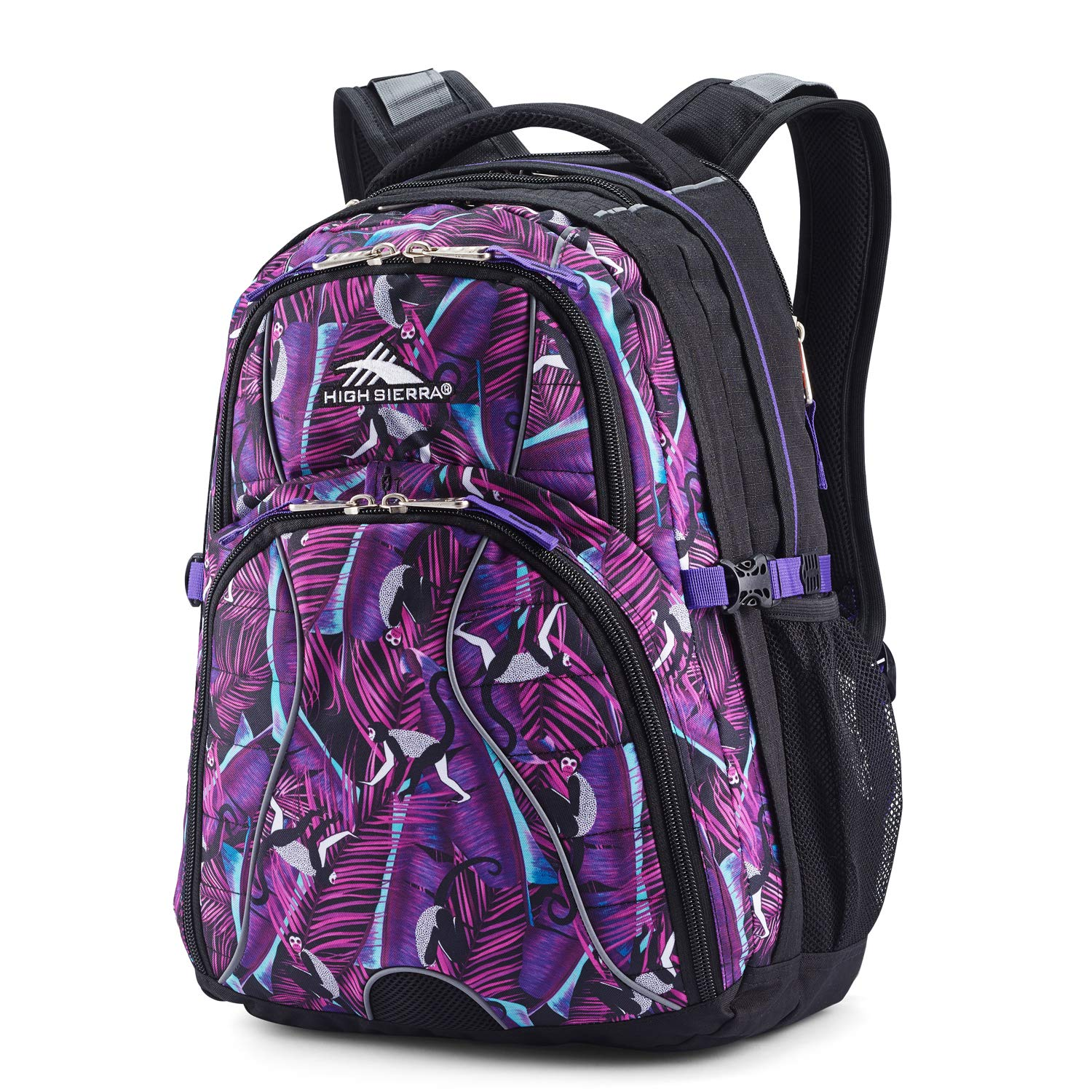 High Sierra Swerve Laptop Backpack, 17-inch Laptop Backpack for High School or College, Ideal Gaming Laptop Backpack by High Sierra