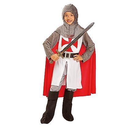 My Other Me Me-201165 Disfraz de caballero medieval con capa, 5-6 años (Viving Costumes 201165
