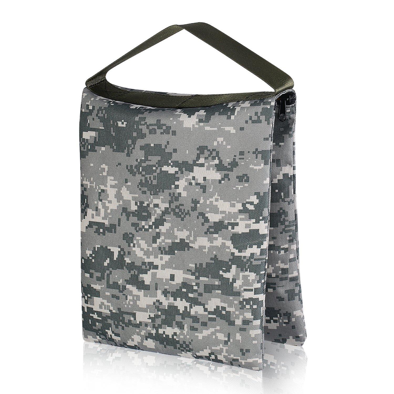 Neewer® 10'x12'/26x30cm Heavy Duty Empty Photographic Sandbag Studio Video Sand Bag for Light Stands, Boom Stand, Tripod (ACU Camo) 10087207