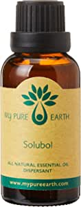 Solubol, Essential Oil Dispersant, 100% Pure, Sustainably Sourced, Organically Crafted, Aromatherapy, My Pure Earth, 30ml