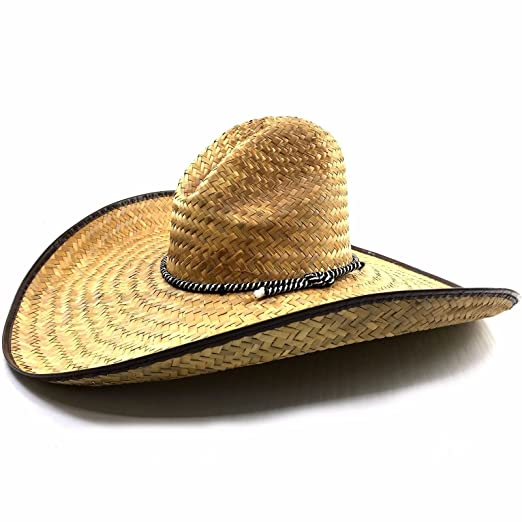 Image Unavailable. Image not available for. Color  Western Peak Milani  Guacho Large Straw Cowboy Ranch Hat ... e0646940a21e