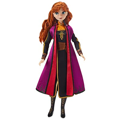 Disney Anna Singing Doll – Frozen II – 11'': Toys & Games