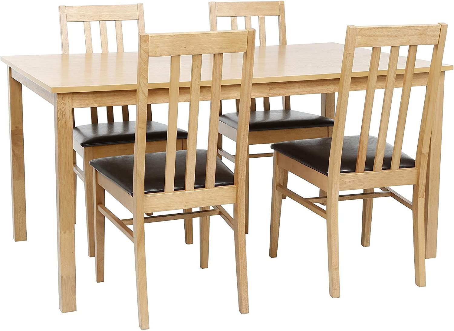 Tesco NEW Truro 11 Seat Dining Table & Chair Set - Oak Effect