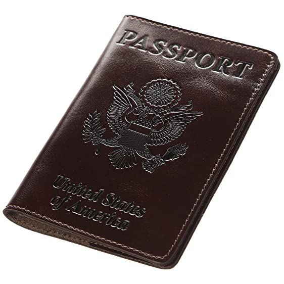 The cover fits like a glove. It is snug enough to secure the passport, but loose enough to allow it close properly. The interior has deep pockets for the passport's front and back cover. Though the leather is thick, the case doesn't add a lot of bulk to the passport