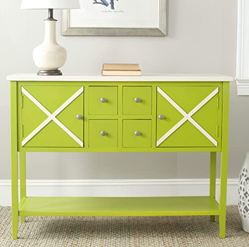 Safavieh American Homes Collection Adrienne Lime Green Sideboard