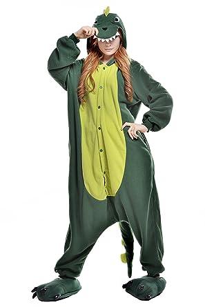 130194b9cf Amazon.com  NEWCOSPLAY Adult Onesie Animal Dinosaur Pajamas  Clothing