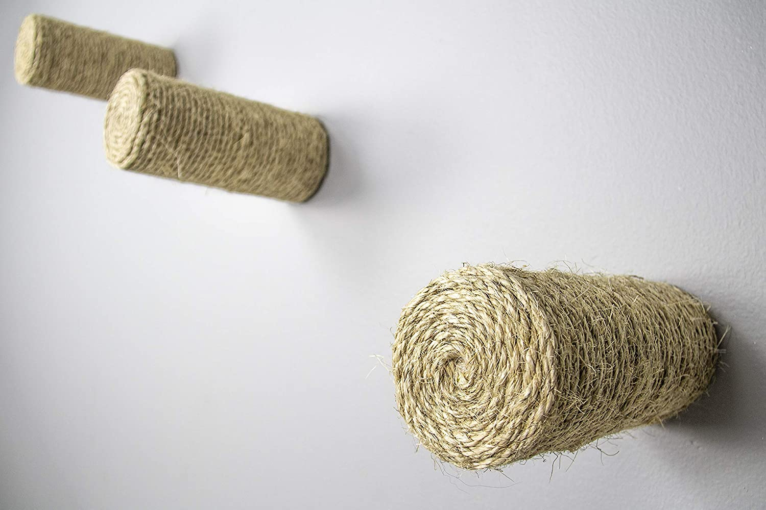 Wall Step Floating Wall Steps Cat Step Sisal Post Modern Cat Wall Cat Gym, Cat Stairs Cat Climbing Wall Step Post