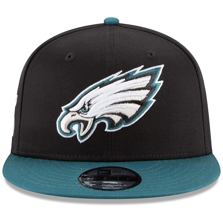 Amazon.com   New Era NFL Philadelphia Eagles Baycik Snap 9Fifty Snapback  Cap 5c0ffc3f2fae