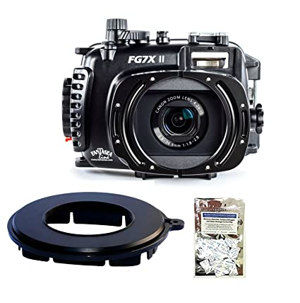 Fantasea FG7X II Housing for Canon Canon G7 X Mark II w/Line EyeDaptor F