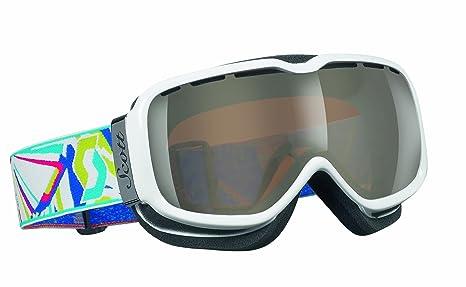 7fa1fd8dfa6 Amazon.com   Scott USA Aura Goggle (Surreal White Illuminator)   Ski ...