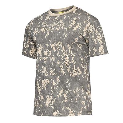 MAGCOMSEN Armée Manche courte Coton De plein air Randonnée T-shirts Tees Homme