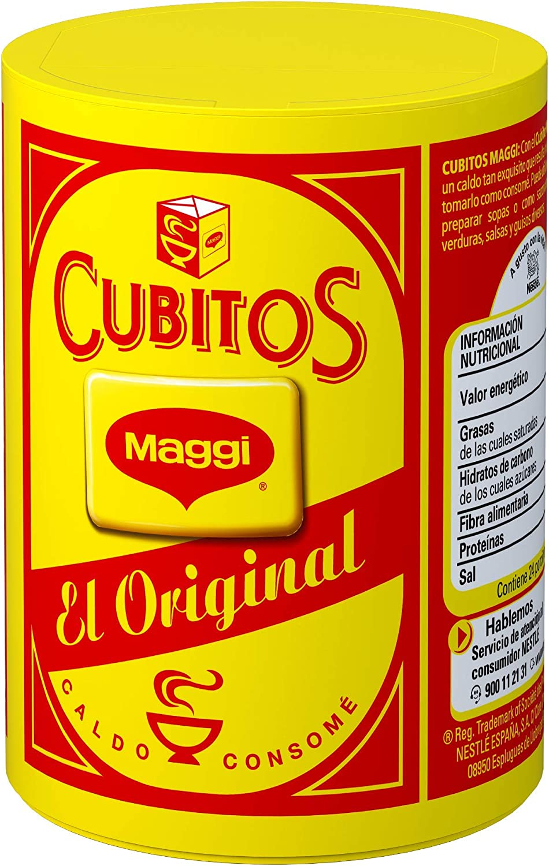 Maggi Pastillas para Caldo en Cubitos Caldo Deshidratado, 24 ...