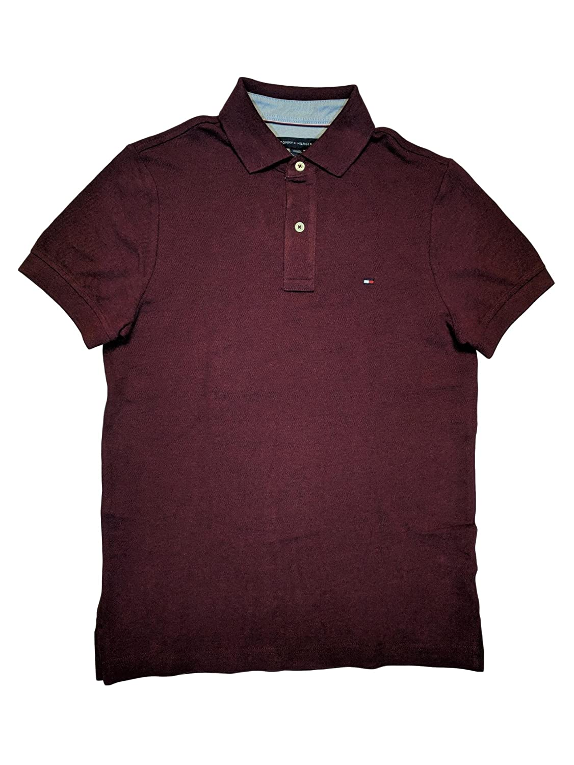 Tommy hilfiger mens custom fit solid color polo shirt at amazon tommy hilfiger mens custom fit solid color polo shirt at amazon mens clothing store geenschuldenfo Image collections