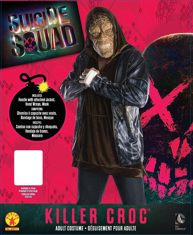 Rubies Mens Suicide Squad Deluxe Killer Croc Costume