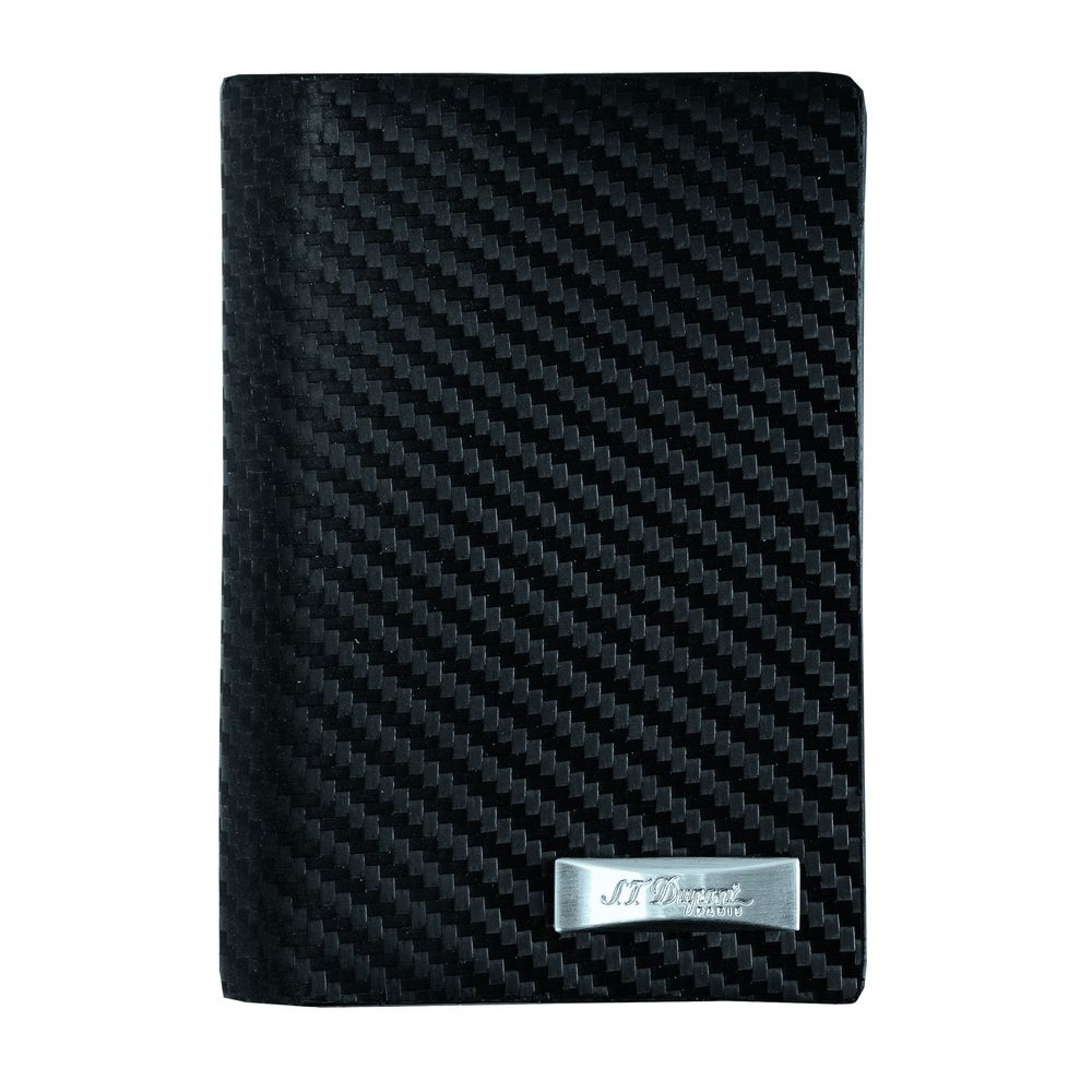 S.T. Dupont Black Leather Business and/or Credit Card Holder 170004