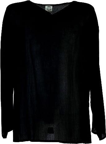 GURU-SHOP, Camisa Yoga, Camisa Goa, Negra, Sintético, Tamaño:XL, Camisas de Hombre: Amazon.es: Ropa y accesorios