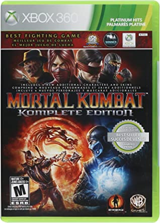 Mortal Kombat Komplete Edition Xbox 360 Xbox 360 Computer And