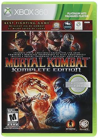 Amazon Com Mortal Kombat Komplete Edition Xbox 360 Video Games