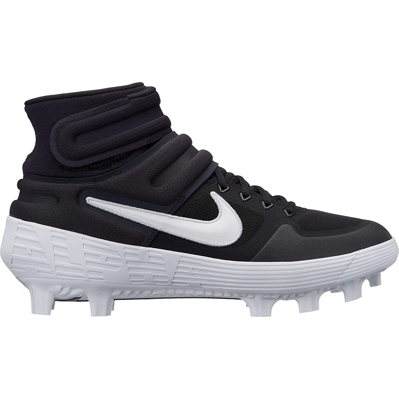 4d324262ec4b Amazon.com | Nike Men's Alpha Huarache Elite 2 Mid MCS Molded Baseball  Cleat | Baseball & Softball