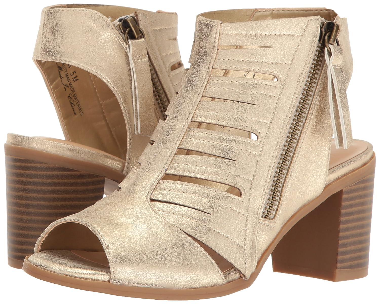 Easy Street Women's Heeled Karlie Heeled Women's Sandal B01MXR20ND 8 W US Gold/Metallic b7b864