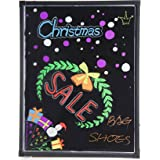 CO-Z 32 X 24 Illuminated LED Message Writing Board Erasable Flashing with Multiple Colors and Remote Control
