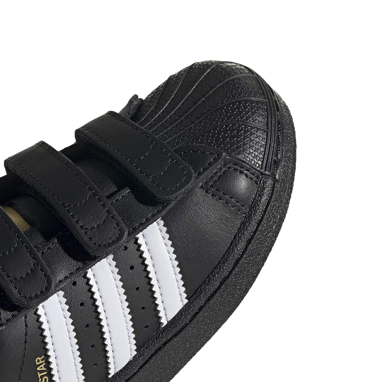 Taille EUR 32 B26071 Couleur Noir et Blanc adidas Originals de Sport Chaussures Superstar Foundation