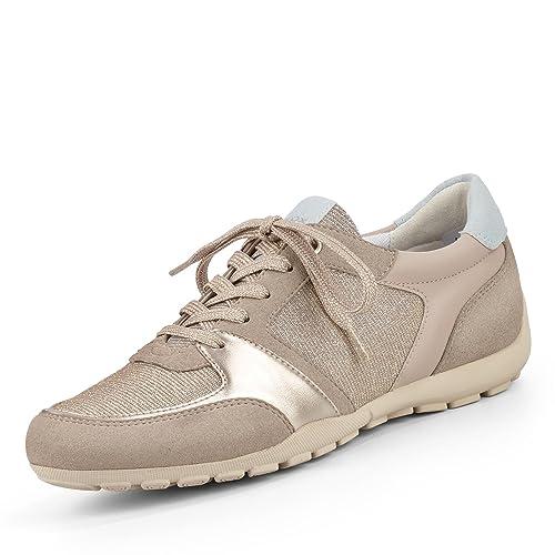 Geox ravex d826db 0ewaf c2uh6 Mujer Cordones con Forro de Tela Flexible Suela: Geox SP: Amazon.es: Zapatos y complementos