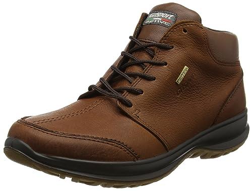 Da Pelle Amazon Uomo Marroni Grisport shoes LivingstonScarpe Arrampicata Basse qzGMVpSU