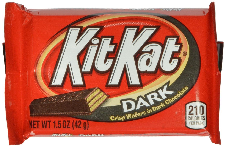 Amazon.com: Kit Kat Candy Bar, Crisp Wafers in White Chocolate ...