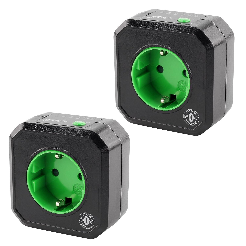 ANSMANN Steckdosenadapter energiesparend AES3 / Schaltbare Steckdose programmierbar fü r PC, Computer & PC Zubehö r / Mü helose Montage durch simples Aufstecken 5024083 Taschenlampe