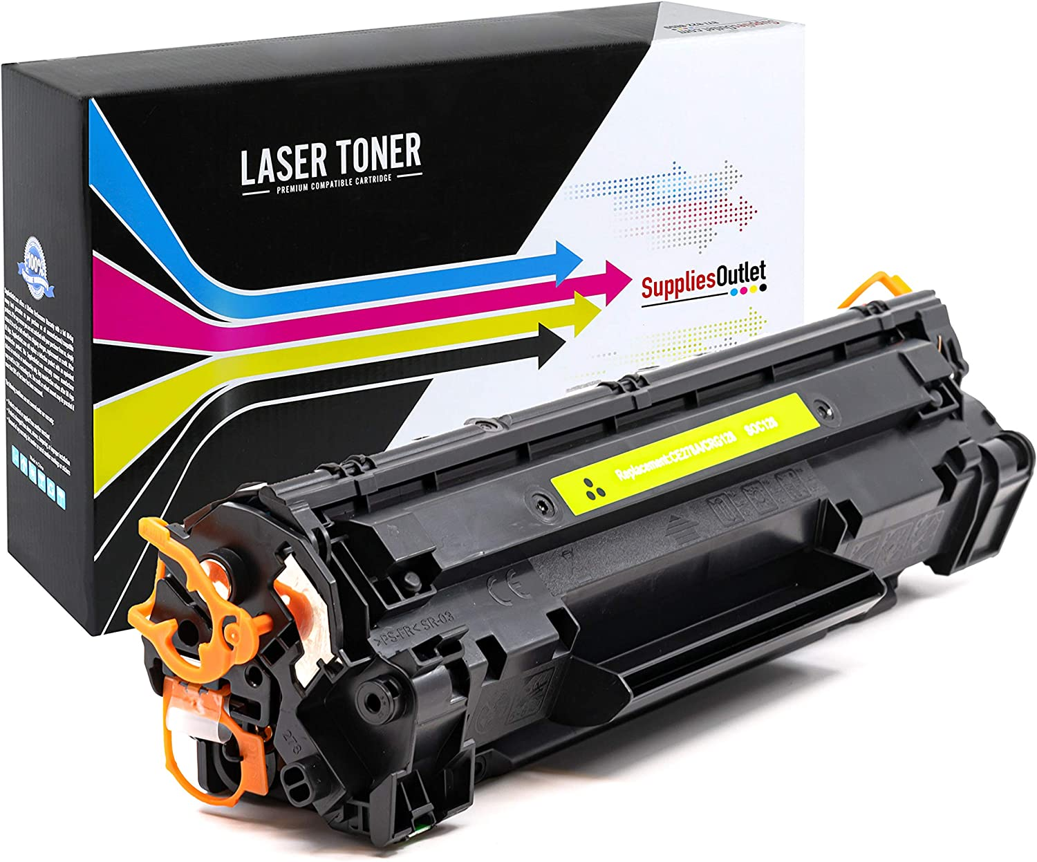 3500B001AA for Use with ImageClass MF4570dn USA Advantage Compatible Toner Cartridge Replacement for Canon 128 Black,1 Pack