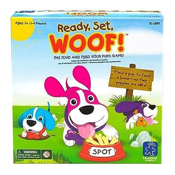 Learning Resources Ready, Set, Woof! Juego de Atributo: Amazon.es: Juguetes y juegos