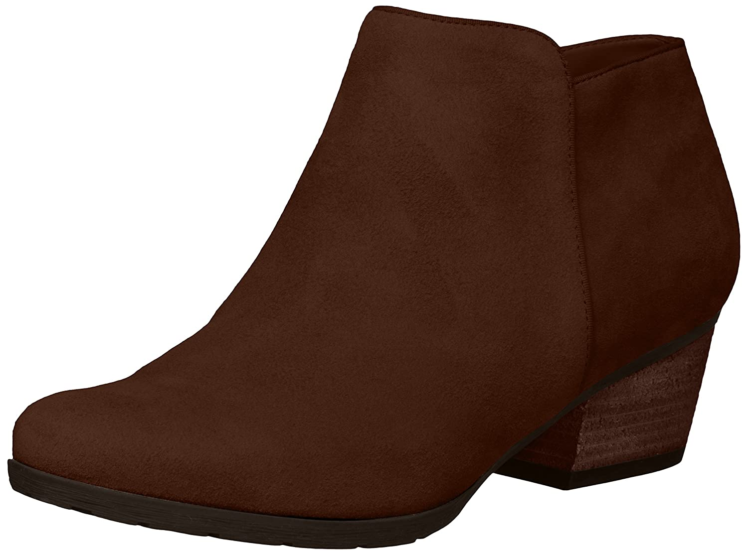 Blondo Women's Villa Ankle Boot B07BQFTSDS 7.5 B(M) US|Chestnut Suede