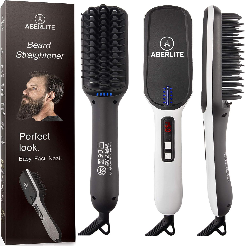 Aberlite Beard Straightener for Men (2019 Beard