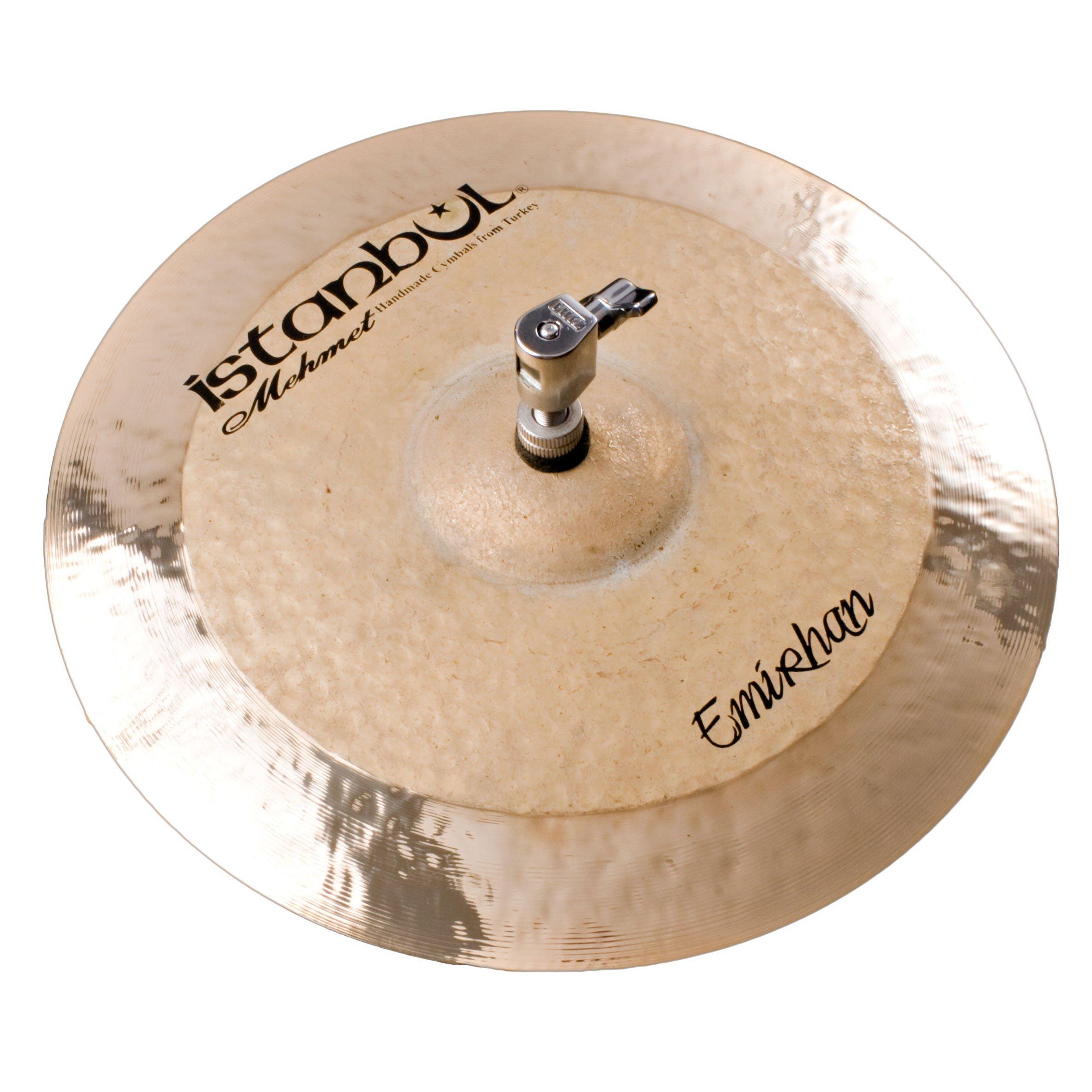 Istanbul Mehmet Cymbals Custom Series EH-HH13 13-Inch Emirhan Hi-Hat Cymbal by Istanbul Mehmet Cymbals