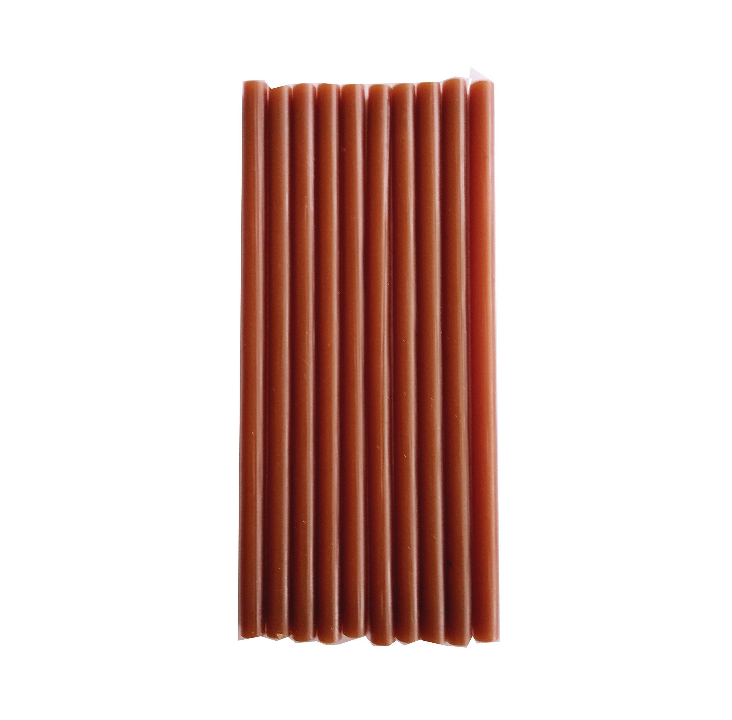 Heirloom Quality Industrial Strength Super Strong Glue Gun Sticks Dark Brown - Standard Pack of 10
