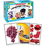 Key Education Early Learning Language Library Cards—PreK-K and Special Learners, Photographic Flashcards to Improve Vocabular