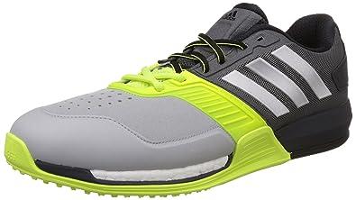 Adidas Uomini Argento Crazytrain Impulso Grigio Scuro, Argento Uomini E Giallo 424536