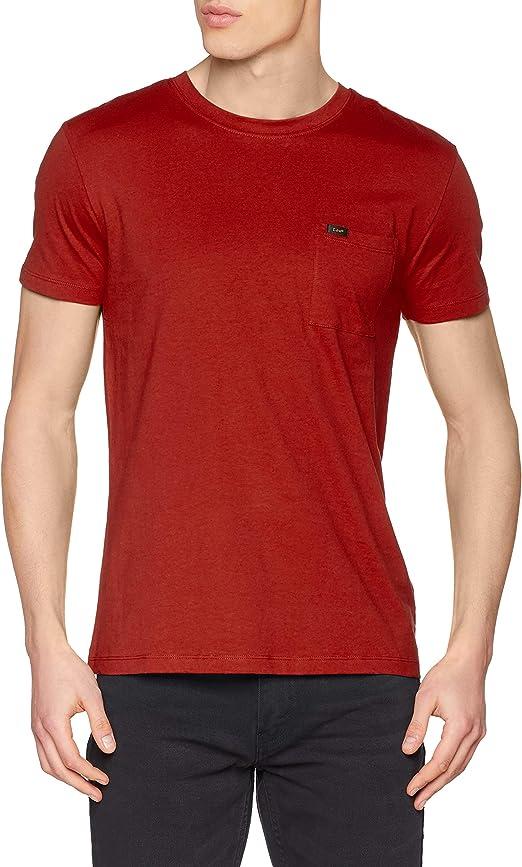TALLA M. Lee Ultimate Pocket tee Camiseta para Hombre