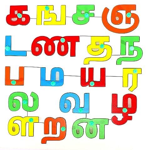 Amazon com: StonKraft Preschool Learning Toys - Tamil | Tamizh
