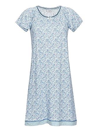 103bbaa6f89339 Vive Maria Little Peafowl Sleepshirt Nachthemd Mint-Melange/Allover-Print:  Amazon.de: Bekleidung