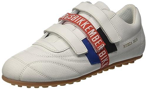Bikkembergs Soccer 2206, Zapatillas para Hombre, Blanco (White 800), 41 EU: Amazon.es: Zapatos y complementos