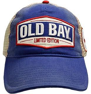 ac948a7632a92 Amazon.com  Old Bay Classic Logo Adjustable Visor  Clothing