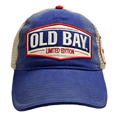 84f3c91e5afccb Amazon.com: Old Bay Limited Edition Men's Baseball Cap Hat (one size ...