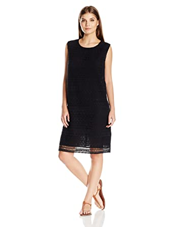 524da5975edf2 Gottex Women s Sleeveless Crochet Beach Dress Swimsuit Cover Up at Amazon  Women s Clothing store