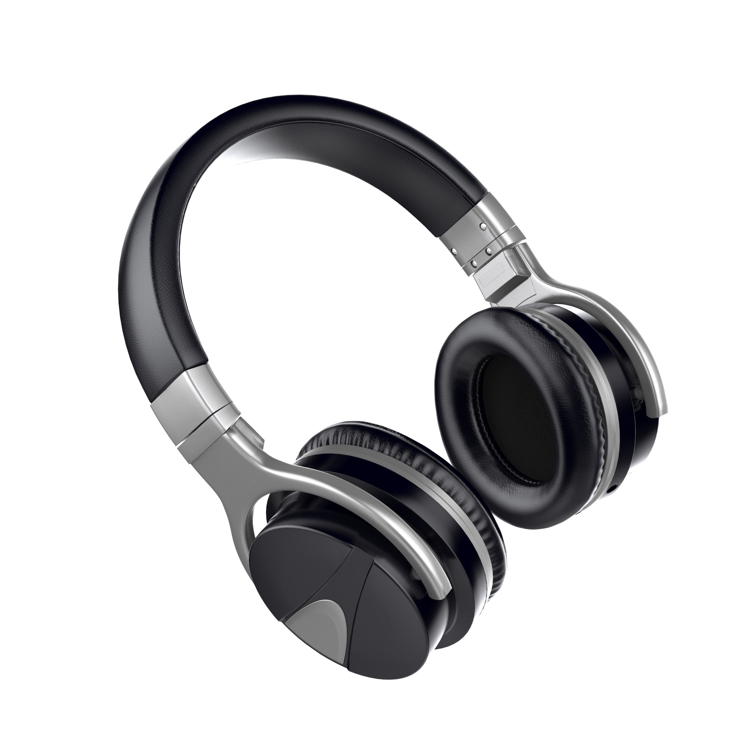 USTEK Wireless Headphones, Active Noise Cancelling Headphones Bluetooth Headphones with Mic Deep Bass Wireless Headphones,Over Ear Bluetooth Stereo Headphones with Microphone Adjustable Earphones ANC