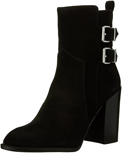Savanna Women US 8 Black Ankle Boot