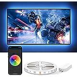 Govee TV LED Lights, App Control TV LED Backlights, 7 Scene Modes & DIY Mode, 6.56FT Easy Installation USB TV LED Backlightsf